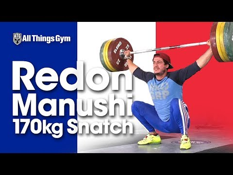 Slow Pull, But BIG Snatch! Redon Manushi 🇫🇷  Heavy Snatch Session (170kg!)
