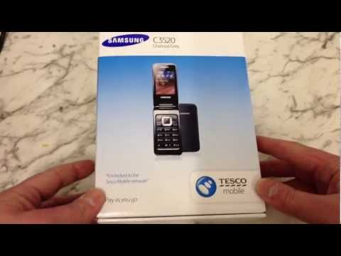Samsung C3520 Unboxing and Review
