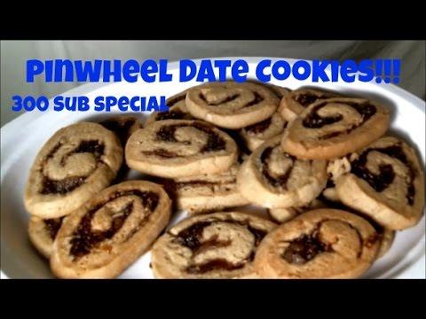 Pinwheel Date Cookies! - 300 Subsciber Special (видео)