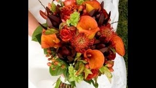 Beautiful Fall Wedding Flowers Inspiration [video]