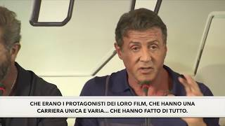 The Expendables 3 - Press Conference - Stallone - Sub ITA - I MERCENARI 3