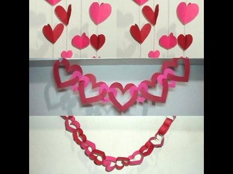 Imagens de dia dos pais - DIY Dia dos Namorados (decoração com corações)