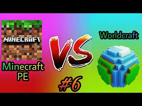 Minecraft PE vs Worldcraft 2 - Part 6
