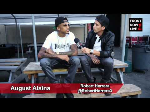 "August Alsina Featuring Nicki Minaj Video For ""No Love"" W/ @RobertHerrera3"