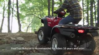 6. Choosing the Honda Utility ATV That's Right For You