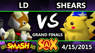 S@X – LD (Fox) Vs. Shears (Pikachu) Grand Finals