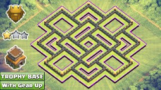 Clash of Clans - We are here with the Town Hall 8 Trophy Base. This Base Built with the new updates of COC 2017. No one can get more than 2 star from this base. So, This base will protect your trophies.But remember you need max defensive troops in your Clan Castle. So request your clan mate for max wizard, max balloons, and max valk. ----------------------------------------------------------------------------------------------------------------Subscribe : https://goo.gl/52Hu3iFacebook Page : https://www.facebook.com/baseofclans/twitter : https://twitter.com/BaseofClansClash of Clans is an addictive multi-player game which consists of fast paced action combat. Build and lead your personalized armies through enemy bases taking gold, elixir and trophy's to master the game and become a legend. Up-rise through the realms and join a clan to reign supreme above all others.----------------------------------------------------------------------------------------------------------------Song: Elektronomia - Limitless [NCS Release] Music provided by NoCopyrightSounds.Video: https://youtu.be/cNcy3J4x62M----------------------------------------------------------------------------------------------------------------Related Searches:th8 trophy base,th8 trophy base with replay,th8 trophy base 2017,clash of clans th8 hybrid base 2017,th8 trophy base master league,th8 hybrid base,th8 hybrid base 2017,clash of clans th8 hybrid base design,th8 hybrid base with bomb tower, th8 farming base,th8 farming base 2017,th8 trophy base crystal,th8 trophy base anti everything,th8 trophy base bomb tower,th8 trophy base new update,th8 trophy base design, Clash of Clans, COC 2017, th8 trophy pushing base,