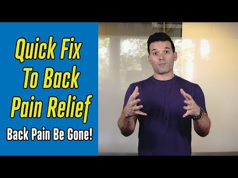 Quick Back Pain Relief