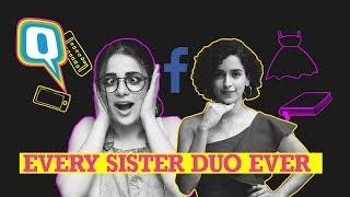 Video Struggles of Having a Sister (Ft. Sanya Malhotra & Radhika Madan)   Quint Neon MP3, 3GP, MP4, WEBM, AVI, FLV Januari 2019