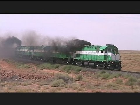 ALCO - Back in August, I visited the Apache Railway in Arizona to catch their ALCo locomotives running between Snowflake and Holbrook. This is the first of three vi...