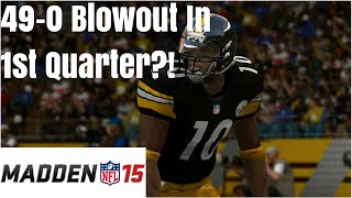 Madden 15: Biggest 1st Quarter Blowout in History! - YouTube