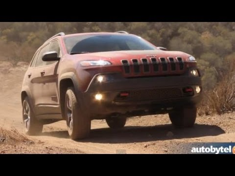 2014 Jeep Cherokee Trailhawk 4x4 Off-Road Test Drive & Walkaround Video with Head of Jeep Design