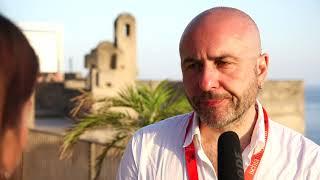 Bruno Oliviero e Massimiliano Gallo con Nato a Casal di Principe all'Ischia Film Festival 2018
