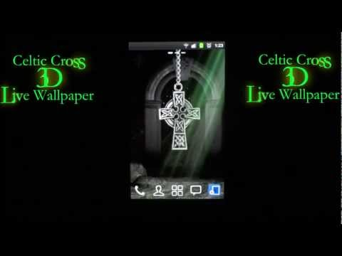 Video of 3D Celtic Cross Wallpaper