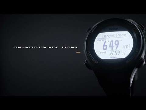 Learn about the Epson Runsense SF-110 GPS Sports Watch