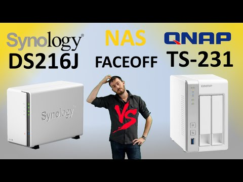 The Synology DS216J vs The QNAP TS-231 - Old vs New in the Budget NAS Comparison