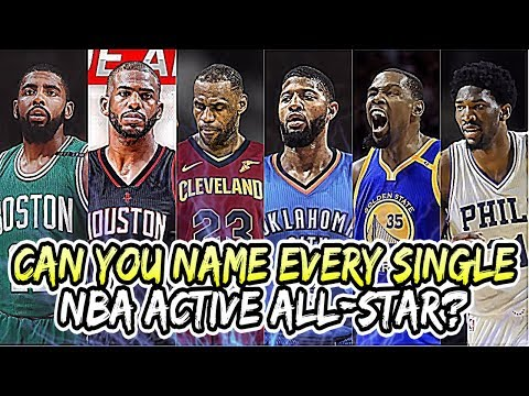 Can You Name EVERY SINGLE NBA All-Star CURRENTLY In The League? (Hard)