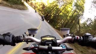 10. 2010 Ducati Streetfighter-S / Bear Creek rd to Skyline
