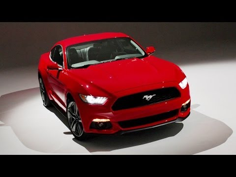 Ford - All-new sophisticated design clearly inspired by 50 years of Mustang heritage evolved to attract wider array of customers and expand global market availabili...
