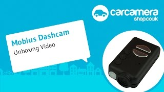 Mobius Dashcam Unboxing