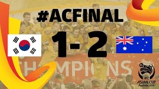 Video FINAL: Korea Republic vs Australia- AFC Asian Cup Australia 2015 MP3, 3GP, MP4, WEBM, AVI, FLV Juli 2018