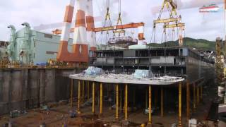 AIDAprima Cruise Ship  Full Construction Time lapse by MKtimelapse