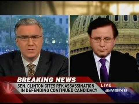 Countdown: Hillary's RFK Assassination Comment Pt. 01
