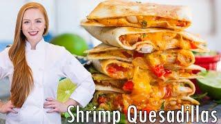 Cheesy Shrimp Quesadillas by Tatyana's Everyday Food