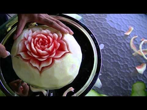 Fruit Carving Demonstration By Koy 003.