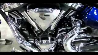 7. 2014 Yamaha Raider S XV1900S Galaxy Blue Walkaround