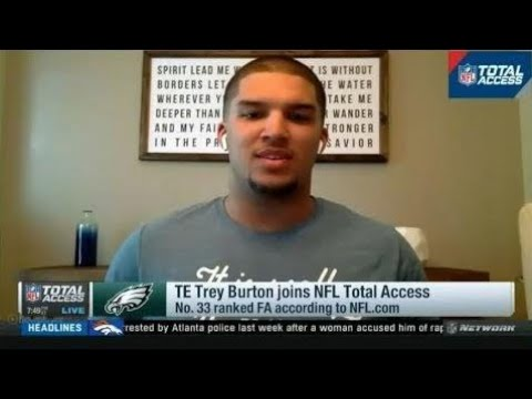TE Trey Burton joins NFL Total Access Today