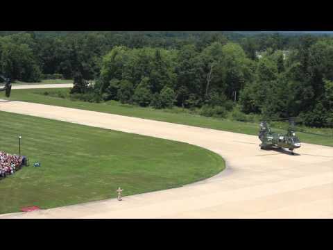 The CH-46 Sea Knight, universally...