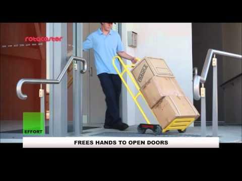 Rotatruck Self Supporting Handtruck Vs Traditional Handtruck