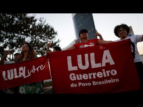 Διχασμένοι οι Βραζιλιάνοι για τον Λούλα