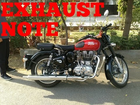 ||Royal enfield classic 350||2017 BS4 Model||EXHAUST NOTE AND SOUND||