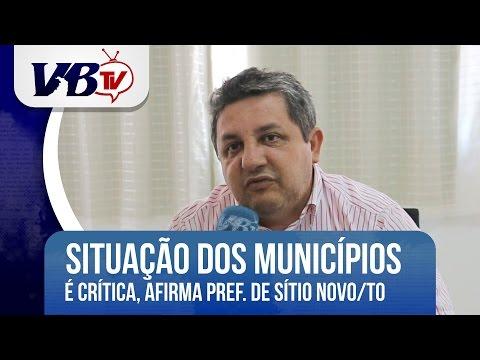 VBTv | Situação de Municípios é crítica, afirma prefeito de Sítio Novo