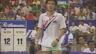 Video 1992 Thomas Cup final - Foo Kok Keong vs Alan Budi Kusuma MP3, 3GP, MP4, WEBM, AVI, FLV Oktober 2018