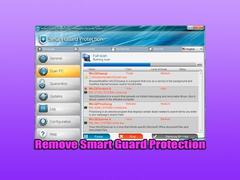 Protection - Remove Smart Guard Protection Smart Guard Protection is a malicious program, its malware name is Rogue.WinWebSec. Its a form of scareware which acts as a ant...