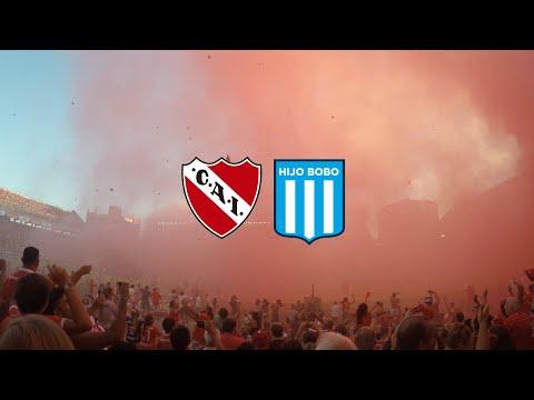 Independiente 1 - 1 Racing | Recibimiento completo en 4K - La Barra del Rojo - Independiente