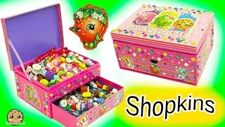 Surprise Blind Bags + Season 6 Chef Club Shopkins - Make Your Own Jewelry Box