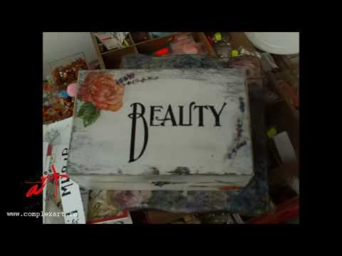 Tutorial - Decoupage - Shabby Chic - Image Transfer