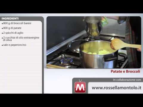 minestra di broccoli e patate - ricetta
