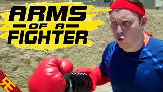Nintendo's new fighting game has left us heavily armed!iTunes ► https://itunes.apple.com/us/album/arms-of-a-fighter/id1250466733?i=1250467373&app=itunesBloopers ► https://www.youtube.com/watch?v=qwGHvABIG0s&t=102sVOCALS PERFORMED BYRaymy Krumrei (https://www.reverbnation.com/raymykrumrei)FILMED IN PART ATHYHT Crossfit Lancaster (http://hyhtgym.com/)SPECIAL THANKS TOAnthony Dufell (trainer):(https://www.youtube.com/user/ChannelDufell)===GET RANDOM ENCOUNTERS GEAR!https://teespring.com/stores/random-encounters===LYRICS:You've got the grit!  The fighting spirit!You've got the glint of cold steel in your eye!You've got the roar; Your foes all fear it!You're out for blood; It's in your battle cry:Fight till youFall and youFail to rise again!You've got the ARMS of a fighter! Yeah!You've got the ARMS of a fighter! Yeah!You've got the ARMS of a fighter! Yeah!Take your shot, and give it all you got!You've gotta go a little farther!You gotta push till your strength is no more!You've got to hit a little harder!You've gotta do what no one's done before!Set free yourFury withFists forged in the flames!You've got the ARMS of a fighter! Yeah!You've got the ARMS of a fighter! Yeah!You've got the ARMS of a fighter! Yeah!Take your shot, and give it all you got! Nobody can defeat you!They try so hard to beat you,But no one can unseat youCause you're invincible!Go capture glory!The writer of your storyIs you!You gave it all. You went the distance!You took the fight to the enemy's door!You stood your ground and bled persistence!You showed the world what your new ARMS are for!Take up your ARMS…You've got the ARMS of a fighter! Yeah!You've got the ARMS of a fighter! Yeah!You've got the ARMS of a fighter! Yeah!Take your shot, and give it all you got!So give it all you got!So give it all you got!