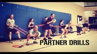 Partner Workouts - Circuit Exercise Ideas