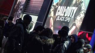 Call of Duty Black Ops : UK Launch Party - Behind The Scenes