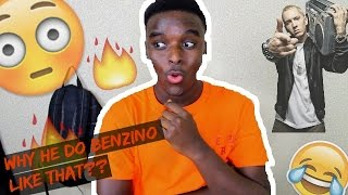 Eminem - Nail in the coffin (BENZINO DISS) REACTION!!