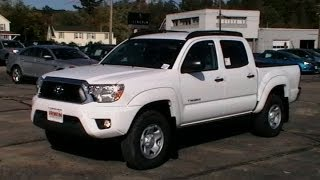 2013 TOYOTA TACOMA SR5 CREW CAB REVIEW  ROOF RACKS WWW NHCARMAN COM