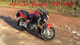 10. Aprilia Shiver 750 ABS 2015 | 35kw | Review / Sound / On Board | 1080P [HD]
