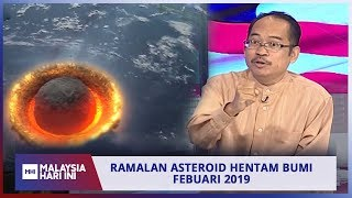 Video Ramalan asteroid hentam bumi Febuari 2019 | MHI (16 Januari 2019) MP3, 3GP, MP4, WEBM, AVI, FLV Maret 2019
