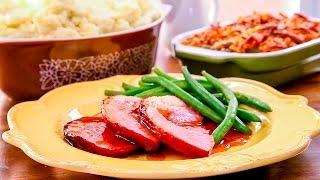 Ham met honingglazuur